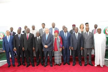 Ecowas Heads of Mission Accredited to Senegal Congratulate President Ellen Johnson Sirleaf.
