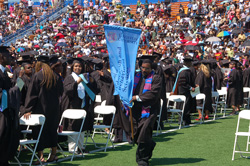 Graduates of the Langston University in Oklahoma.