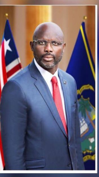 His Excellency, Dr. George Manneh Weah