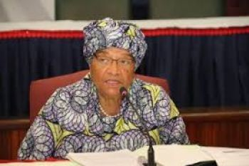 President Sirleaf Addresses the Nation at the Start of Campaign.