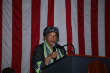 President Sirleaf Expresses Concern over Impeachment Proceedings.
