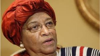 President Sirleaf Expresses Surprise at Recalled Diplomat's BBC.