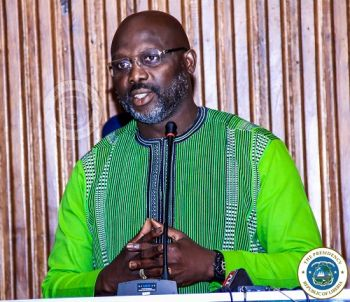 President Weah Consoles Nigerians Over Death of Former President Shagari