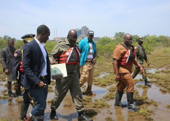 President Weah Tours Bali Island for the contruction of modern Conference Center