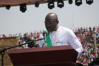 H.E. George Manneh Weah