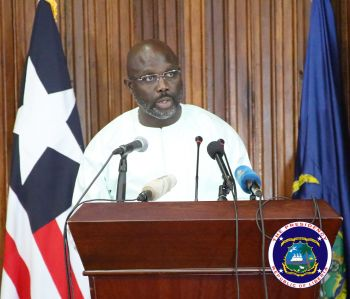 President Weah addresses the nation on the state of the economy