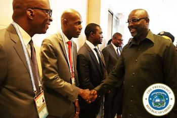 President Weah and Officials in China for FOCAC