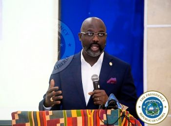 President Weah lunches UL digital registration process