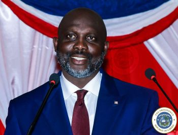 President Weah presenting his second State of the Nation Address.jpg