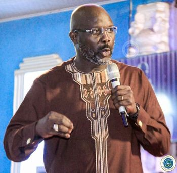 His Excellency Dr. Weah