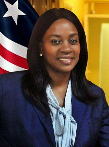 Ambassador Clar Marie Weah<br />