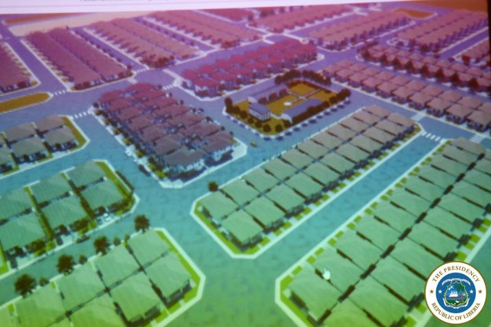 Diagram of the Proposed Housing Project