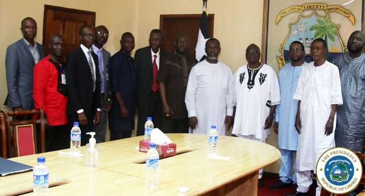 Group photo of Liberian Government Officials and GELPAZ Representatives