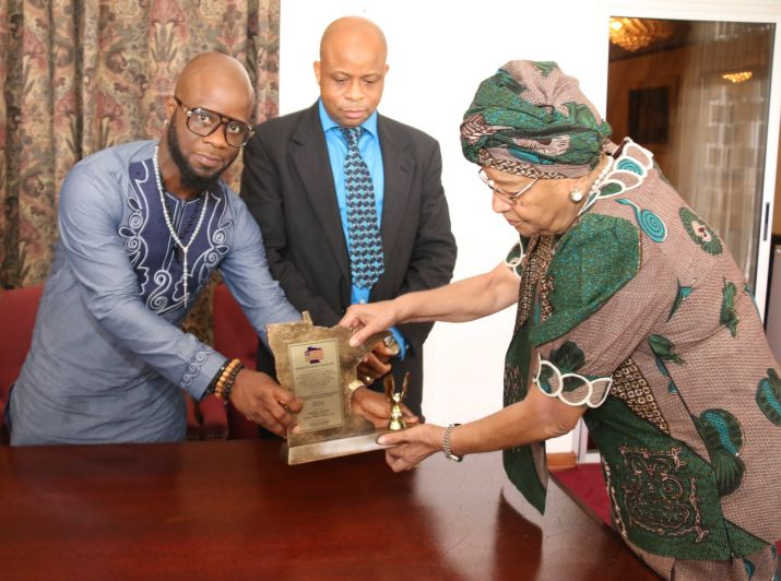 President Sirleaf Receives Delegation from the Organizations of Liberians in Minnesota (OLM); Acknowledges Positive Engagements and Renews support for Dual Citizenship