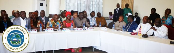 Partial view of participants at the Government-Political Parties Consultative Forum