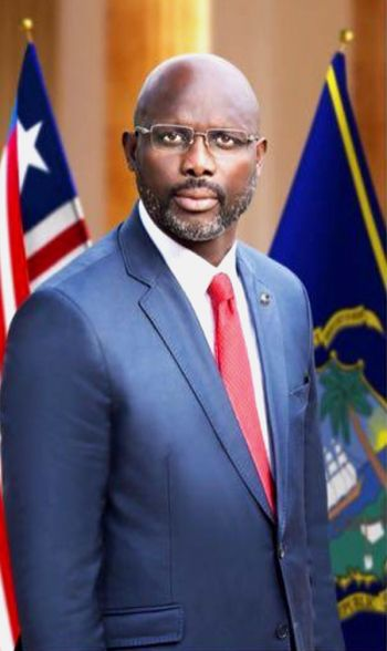 President Weah's Official Photo